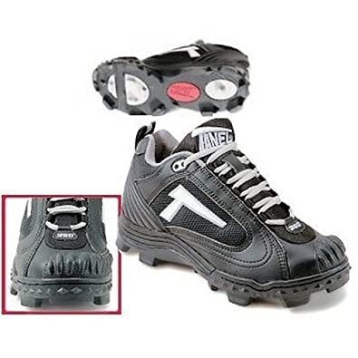 Buy Tanel 360 Mens REV-D Low Cut Cleats with SpiderFlex. All Black. by Tanel 360