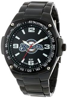 buy Game Time Unisex Mlb-War-Mil Warrior Milwaukee Brewers Analog 3-Hand Watch