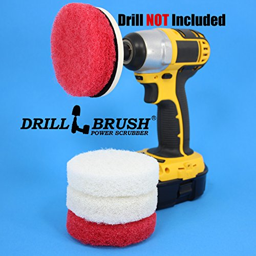Power Scrubber Scumbusting Scrub Pad Bathroom Cleaning Kit (Bathroom Power Brush compare prices)