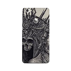 Mobicture Skull Abstract Premium Printed Case For LETV 1S/LeEco 1S