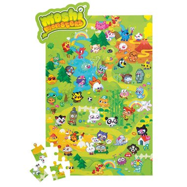 Moshi Monsters 100 Piece Puzzle - Moshi Moshlings - 1