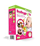 Babypotz - 50 BPA Free Plastic Reusable Containers for Freezing Baby Food / Weaning Pots