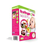 Babypotz - 50 BPA Free Plastic Reusable Containers for Freezing Baby Food / Weaning Potsby Babypotz