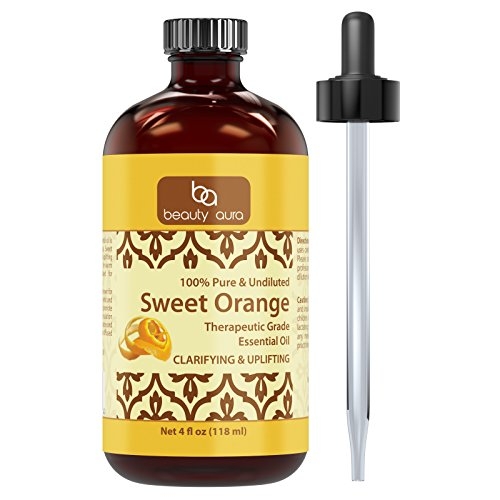 Beauty-Aura-Sweet-Orange-Essential-Oil-100-Pure-Undiluted-Therapeutic-Grade-Oils-Ideal-for-Aromatherapy-Great-Quality-Great-Value