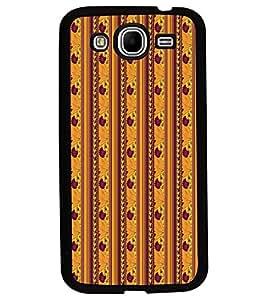 Fuson Premium Sunflower Design Metal Printed with Hard Plastic Back Case Cover for Samsung Galaxy Mega 5.8 i9150 i9152