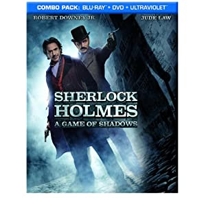 Sherlock Holmes A Game of Shadows Blu-ray DVD Digital Combo