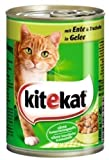 Kitekat Katzenfutter Dosen Mix 12er Pack