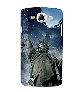 STATUE OF LIBERTY ALIEN INVASION PIC 3D Hard Polycarbonate Designer Back Case Cover for Samsung Galaxy Mega 5.8 i9150 :: Samsung Galaxy Mega 5.8 i9152