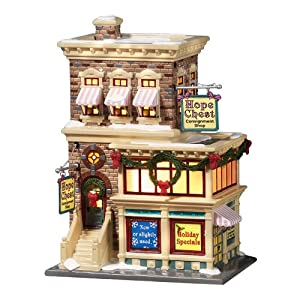 "Department 56, Snow Village Series ""Hope Chest Consignment Shop"""