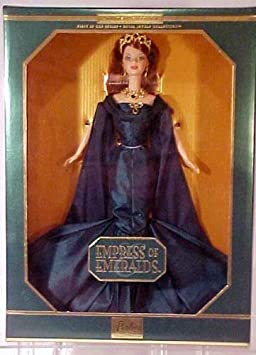 1999 Limited Edition First In The Series Royal Jewels Collection EMPRESS OF EMERALDS Barbie by Mattel (English Manual)