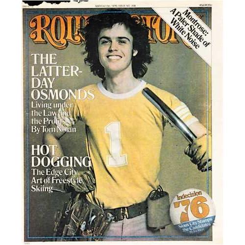 Rolling Stone Magazine # 208 March 11 1976 Donny Osmond (Single Back