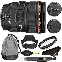 Canon EF 24-105mm f/4L IS USM Lens For T5i, T6i, T6S, 6D, 5D, 5DII, 5DIII, T4i, T3i, 60D, 70D, 70DII, 7D & 7DII DSLR Cameras FULL FRAME LENS
