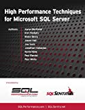 img - for High Performance Techniques for Microsoft SQL Server book / textbook / text book