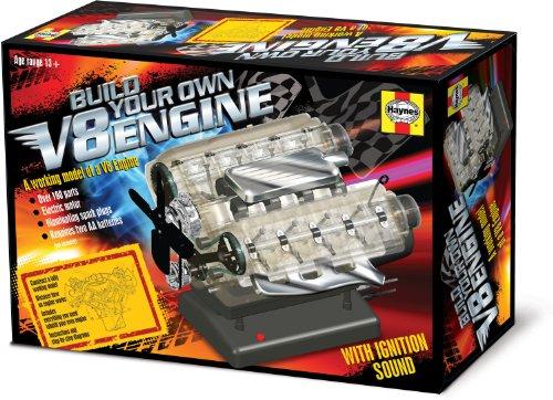 V8エンジン 電動組立キット