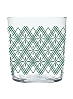 Enjoy Home Set Vaso 4 Uds. Magatama 37 cl Verde