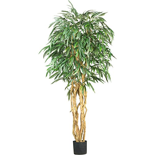Nearly Natural 6ft Weeping Ficus Silk Tree