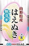 【精米】山形県産 はえぬき 無洗米 5kg 平成28年産