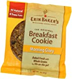 Erin Baker&#039;s Breakfast Cookie Morning Glory, 3-Ounce Individually Wrapped Cookies (Pack of 12)