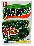 リケン わかめスープファミリーパック 6.4g×10袋入り (2入り)