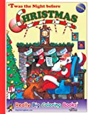 9780972783316: 'Twas the Night Before Christmas Giant Super Jumbo Coloring Book