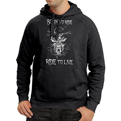 n4690h-sweatshirt-a-capuche-manches-longues-born-to-ride-motorcycle-clothing-small-noir-multicolore