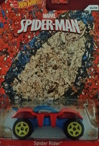 2014 Hot Wheels Marvel Spiderman Spider Rider 04/08
