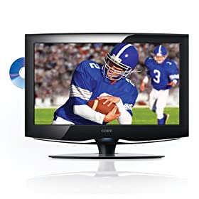 Coby TFDVD2495 24-Inch 1080p Widescreen LCD HDTV/Monitor with DVD Player and HDMI Input (Black)