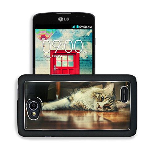 Floor Wood Indoors Cats Animals Lg Optimus L70 Dual D325 Snap Cover Premium Aluminium Design Back Plate Case Open Ports Customized Made To Order Support Ready 5 2/16 Inch (130Mm) X 2 12/16 Inch (70Mm) X 11/16 Inch (17Mm) Msd L70 Professional Cases Accesso front-616070