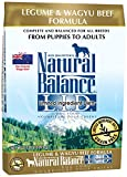 Natural Balance L.I.D. Limited Ingredient Diets Legume & Wagyu Beef Dry Dog Food, 24-Pound