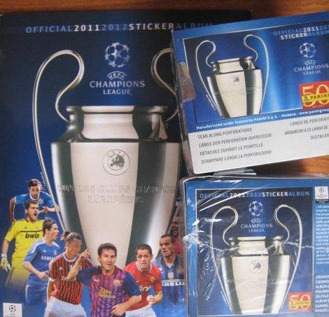 Panini Uefa Champions League 2011 / 2012 2 Boxes + Album
