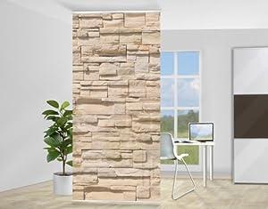 Design raumteiler wall of ashlar steine baumarkt for Steine baumarkt