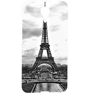 Casotec Paris City Design 3D Hard Back Case Cover for Micromax Canvas Xpress 2 E313