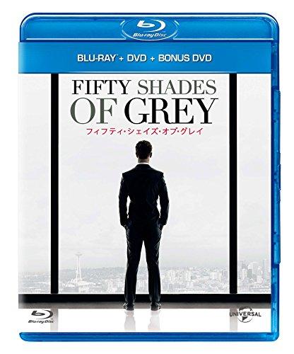 【Amazon.co.jp限定】フィフティ・シェイズ・オブ・グレイ コンプリート・バージョン ブルーレイ+DVD+ボーナスDVD セット [Blu-ray]