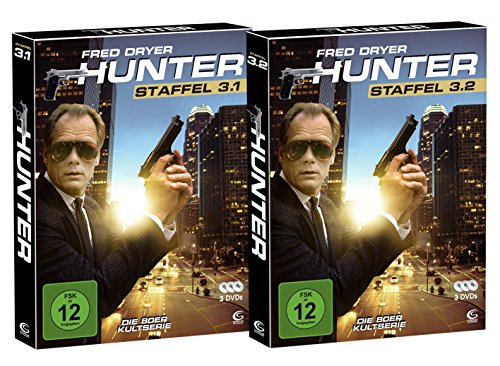Hunter - Gnadenlose Jagd (Die komplette Staffel 3 auf 6 DVDs in 2 Digipacks mit Schuber plus Episodenguide) (exklusiv bei Amazon.de)