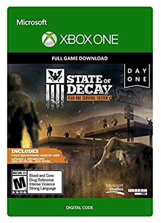State of Decay: Year-One Survival Edition - Day One Edition - Xbox One [Digital Code]