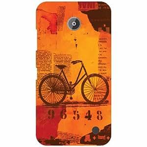 Nokia Lumia 630 Back Cover ( Designer Printed Hard Case)