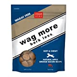 Cloud Star Wag More Bark Less Soft & Chewy Dog Treats - Apple Smoked Bacon, 6-Ounce (Pack of 4)
