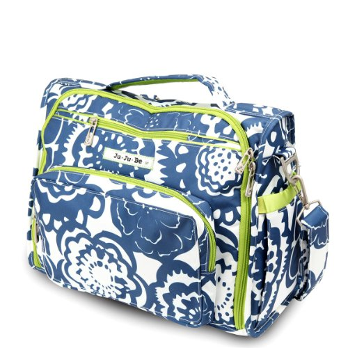 Ju-Ju-Be B.F.F. Convertible Diaper Bag, Cobalt Blossoms