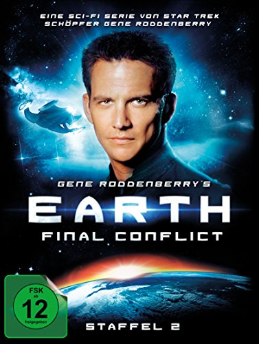 Gene Roddenberry's Earth: Final Conflict - Staffel 2 (Limited Digipak, 6 Discs) [Limited Edition]