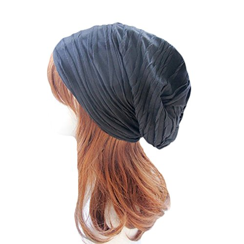century-star-double-layers-sping-summer-solid-color-fashionable-baggy-hat-blue