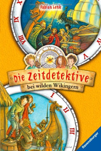 Die Zeitdetektive 7/24: Die Zeitdetektive bei wilden Wikingern, Buch