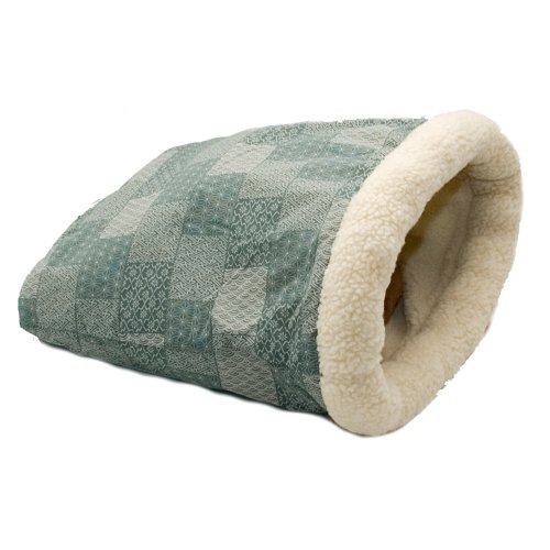 K&H Kitty Crinkle Sack Cat Bed, 15-Inch by 18-Inch, Teal