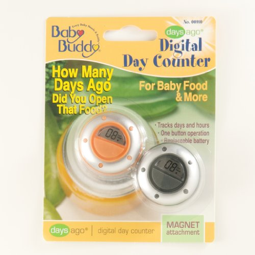 Baby Buddy Daysago Digital Day Counter Magnet Attachment front-869138