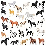 Terra Horses - 4 Pack (Color and Style Vary)