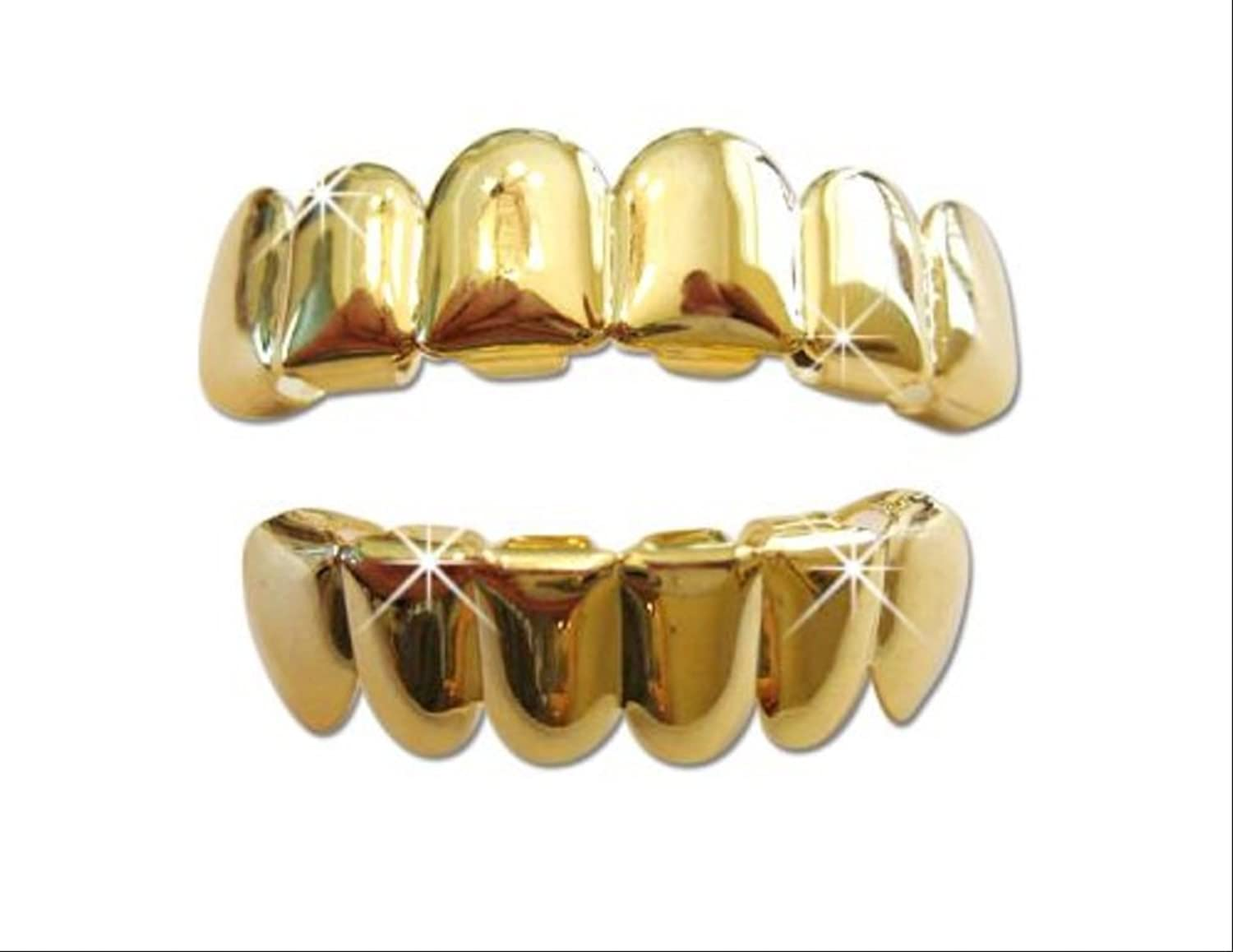 Top Row Grillz Grillz Set Top Bottom