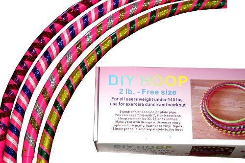 sports-hoopr-diy-hooptm-2b-18lb-dia405-large-exercise-hula-hoop-pink-2-tapes-included