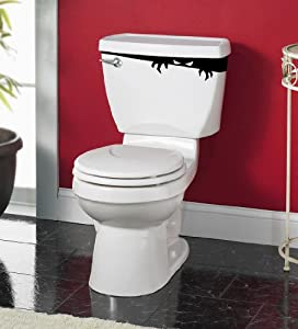 "Amazon.com - ""Tank Monster"" - Toilet Décor Sticker Vinyl Decal"