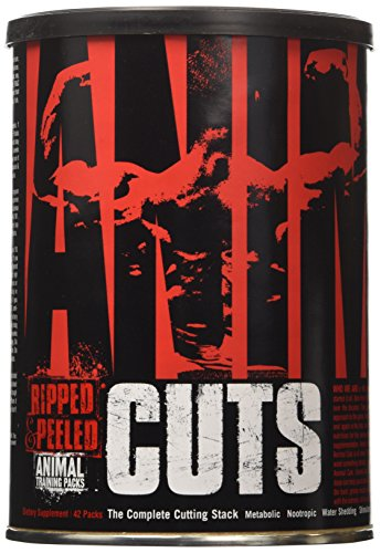 Universal Nutrition Animal Cuts Ripped and Peeled Thermogenic Fat Burner Supplement (Ripped Pack compare prices)