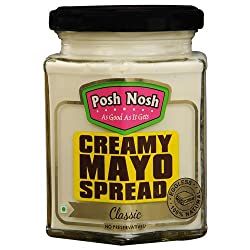 Posh Nosh Eggless Mayonnaise 235g (Classic Flavour) (Veg + No Preservatives)