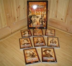 Wild Wild West: 8 DVD Box Set: Amazon.co.uk: Daniel Boone, Davy